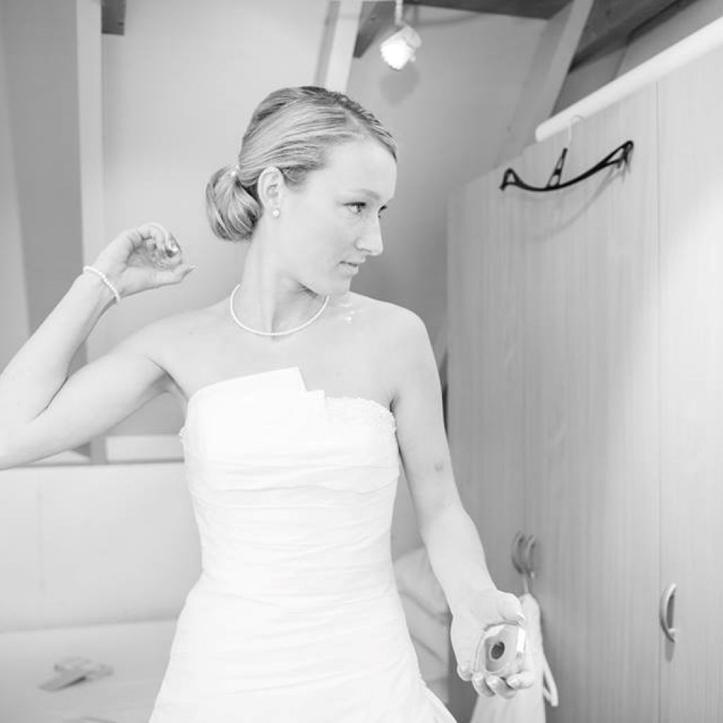 bruidkapsel classis look
