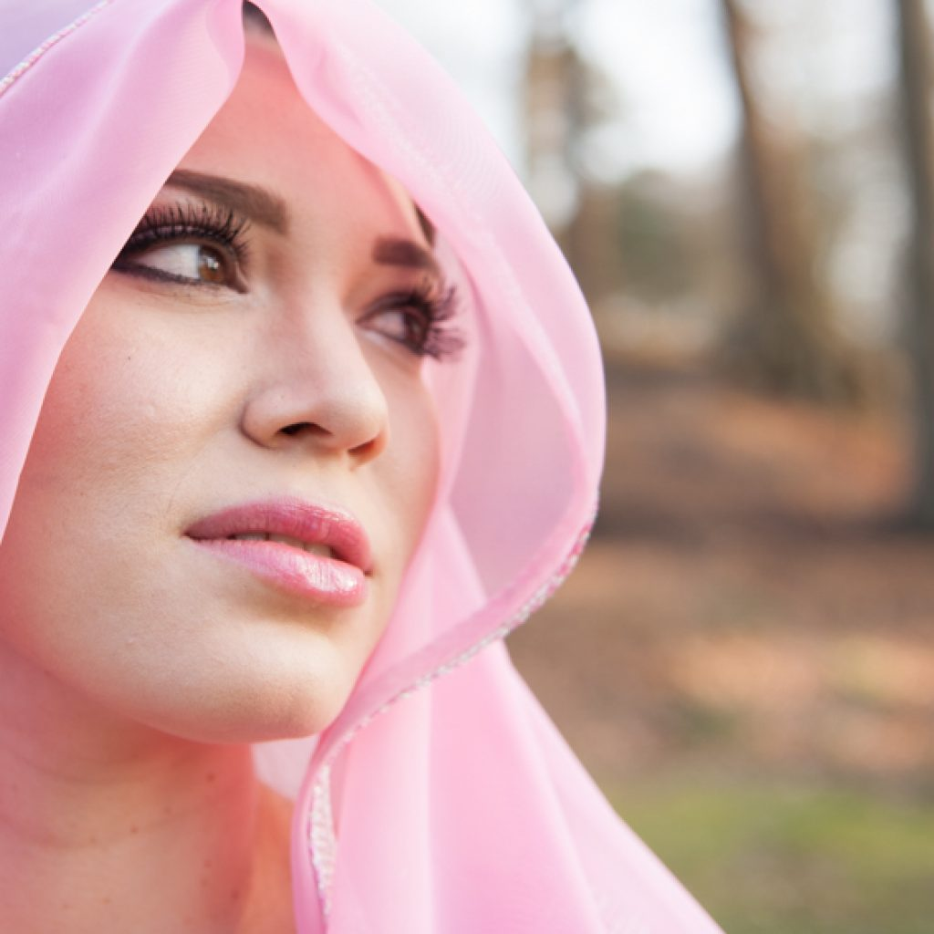 Romina - Arabische bruidsmake-up copyright Freya Elders