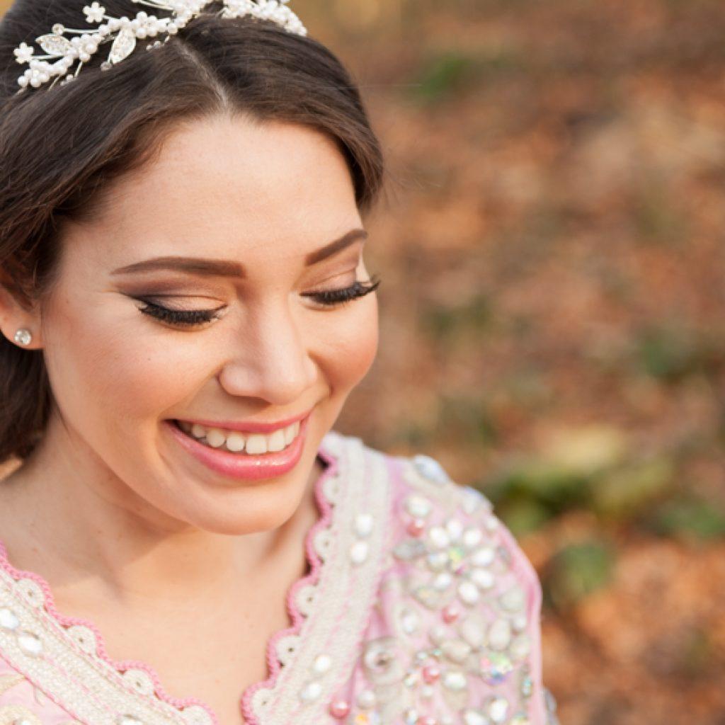 Arabische bruidsmake-up copyright Freya Elders