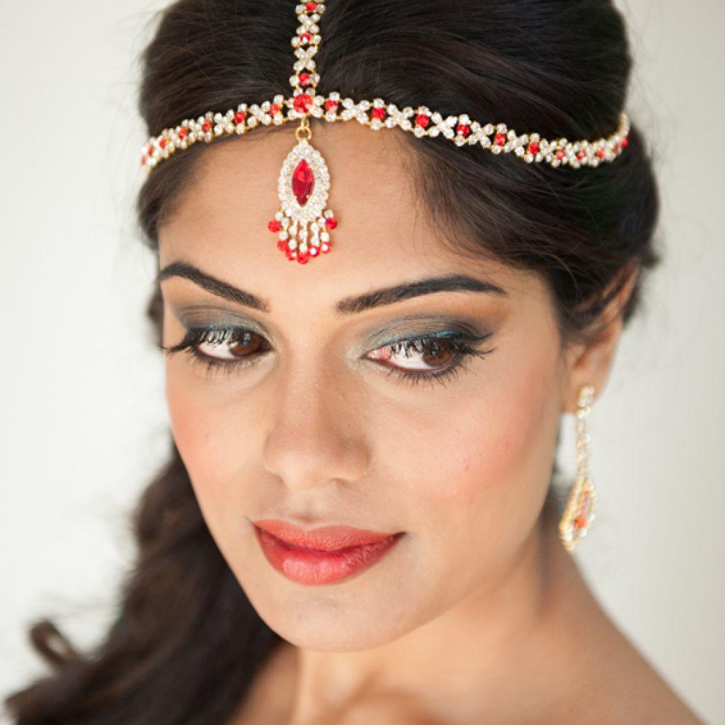 copyright Freya Elders - indiase bruidsmake-up