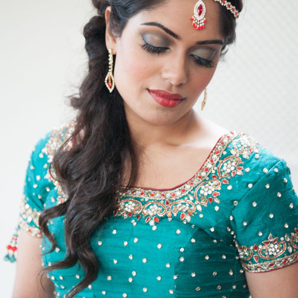 indiase bruidskapsel