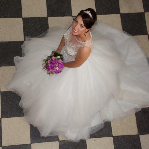 classic bruidskapsel