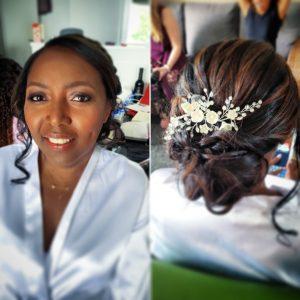 donkere huid bruid