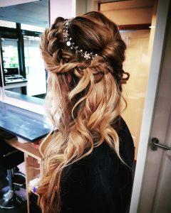 boho braid bride