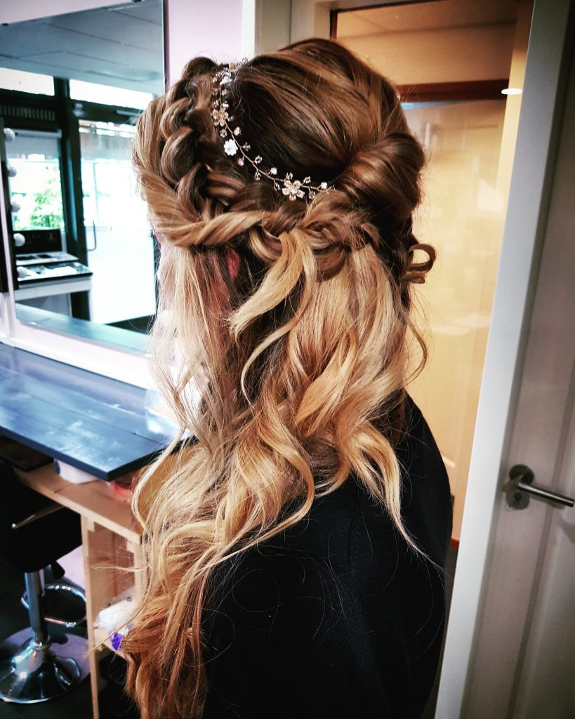 boho braid bride