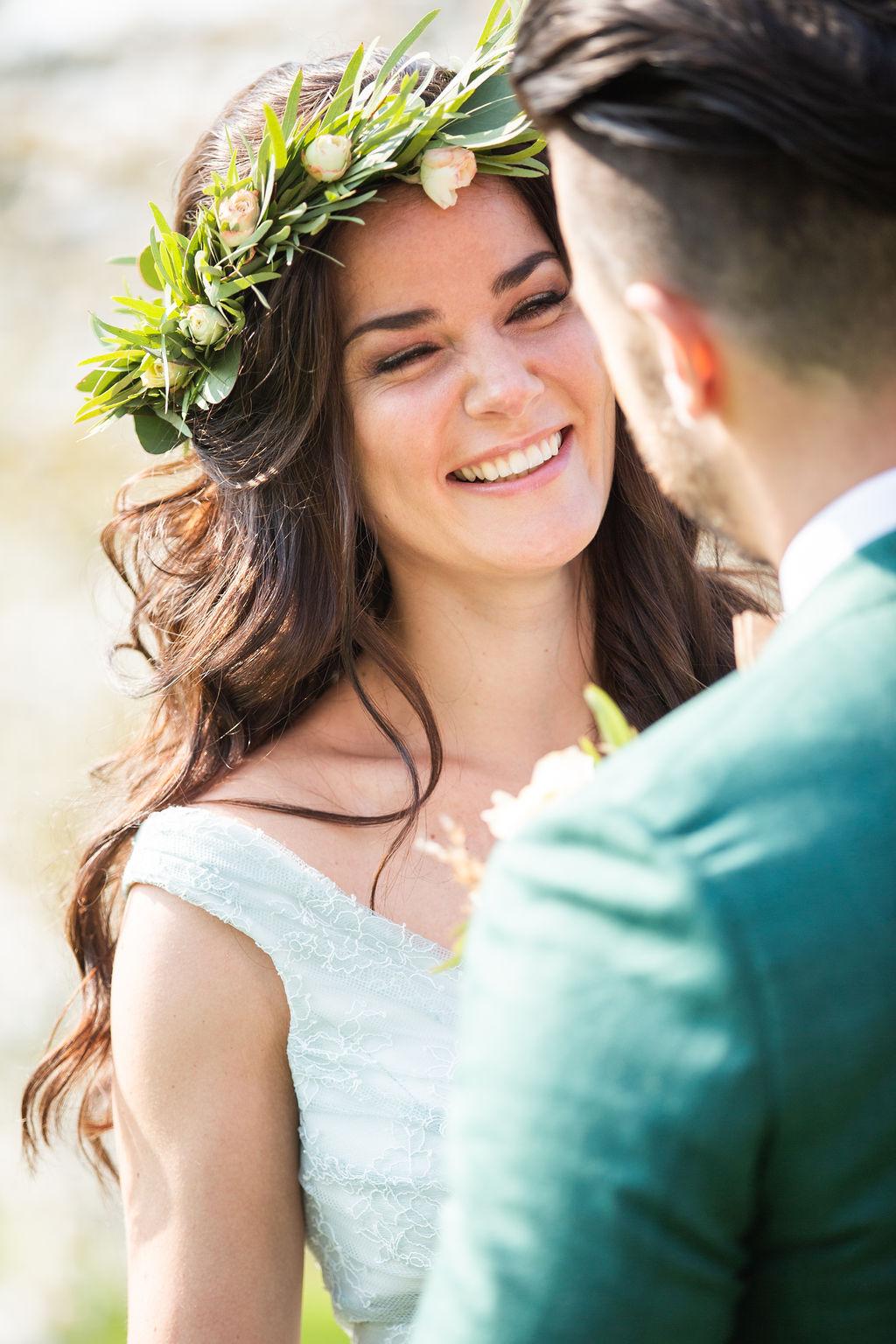 bruidsmake-up en bruidskapsel verzorging